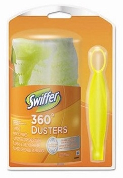 Picture of item 965-630 a Swiffer 360 Duster Starter Kit. 12 count.