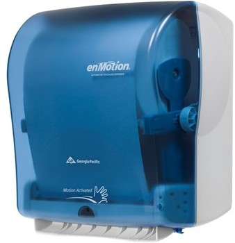 Picture of item 892-300 a enMotion® Wall Mount Automated Touchless Towel Dispenser. 14.80 X 9.75 X 16.75 in. Splash Blue.