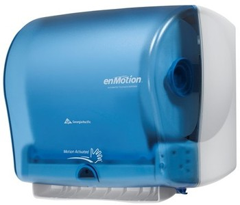 GP enMotion® Impulse® 10 Automated Towel Dispenser. 14.8 X 9.75 X 13.3 in. Splash Blue.