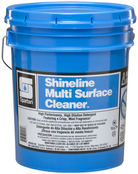 Picture of item 601-122 a Shineline® Multi Surface Cleaner.  5 Gallon Pail.