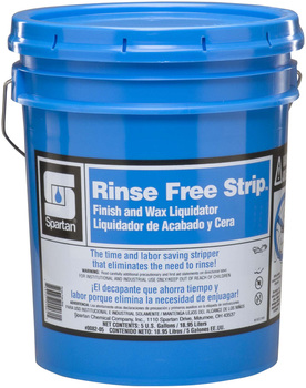 Picture of item 680-106 a Rinse Free Strip.  Finish and Wax Liquidator.  5 Gallon Pail.