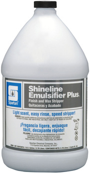 Picture of item H882-228 a Shineline Emulsifier Plus®.  Finish and Wax Stripper.  1 Gallon.