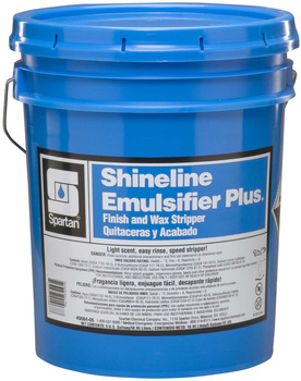 Picture of item H882-229 a Shineline Emulsifier Plus®.  Finish and Wax Stripper.  5 Gallon Pail.