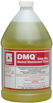 Picture of item 604-106 a DMQ®.  Damp Mop Neutral Disinfectant Cleaner.  1 Gallon.