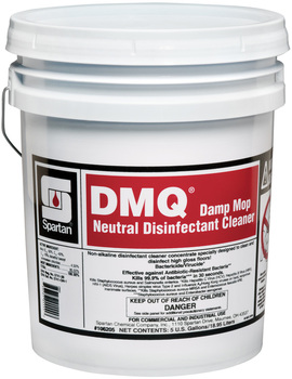 Picture of item 604-107 a DMQ®.  Damp Mop Neutral Disinfectant Cleaner.  5 Gallon Pail.