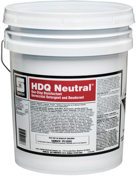 Picture of item 604-136 a HDQ Neutral®.  Neutral pH Disinfectant Quat.  5 Gallon Pail.