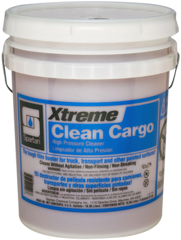 Picture of item 645-107 a Xtreme Clean Cargo®.  Super-Strength Pressure Washer Concentrate for Trucks and Painted Surfaces.  5 Gallon Pail.