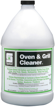 Picture of item H615-110 a Oven & Grill Cleaner™.  Removes Baked-On Grease, Carbon and Food Deposits.  1 Gallon.