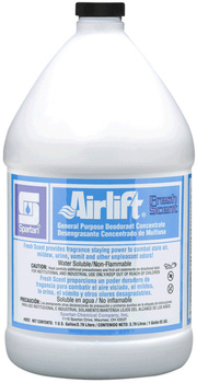 Picture of item 603-207 a Airlift® Fresh Scent General Purpose Deodorant Concentrate.  1 Gallon.
