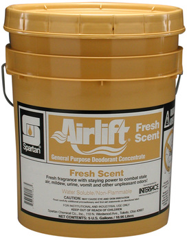 Picture of item 603-214 a Airlift® Fresh Scent General Purpose Deodorant Concentrate.  5 Gallon Pail.