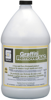 Picture of item 601-151 a Graffiti Remover SAC®.  Removes Tough Marks and Stains.  1 Gallon.