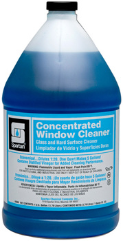 Picture of item 662-106 a Concentrated Window Cleaner.  Glass and Hard Surface Cleaner.  1 Gallon, 4 Gallons/Case