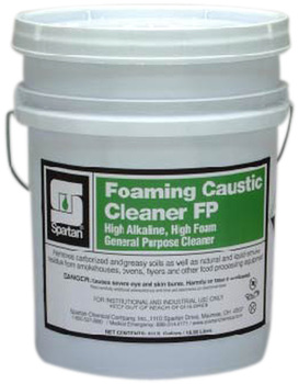 Picture of item 970-600 a Foaming Caustic Cleaner FP.  Removes Tough Food Soils and Smoke Residue.  5 Gallon Pail.