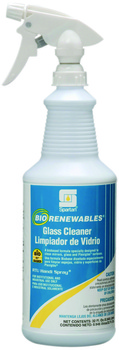 BioRenewables® Glass Cleaner.  Green Seal™ Certified.  1 Quart.