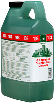 Picture of item 672-294 a Clean on the Go® Green Solutions® Neutral Disinfectant Cleaner #103.  2 Liters.