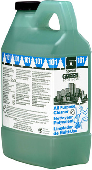 Clean on the Go® Green Solutions® All Purpose Cleaner #101.  2 Liters.