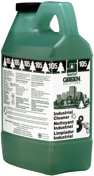 Picture of item 672-298 a Clean on the Go® Green Solutions® Industrial Cleaner #105.  2 Liters.