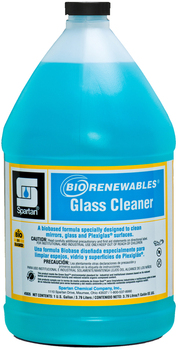 Picture of item 662-114 a BioRenewables® Glass Cleaner.  Green Seal™ Certified.  1 Gallon.