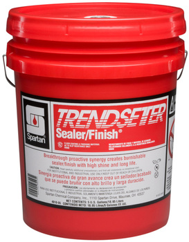 Picture of item 682-213 a Trendsetter Sealer/Finish®.  20% Solids. High Speed Sealer/Finish.  5 Gallon Pail.