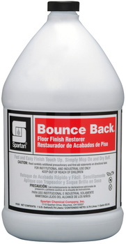 "Picture of item 684-103 a Bounce Back®.  Floor Finish Restorer. Mop on...dry buff for ""just-waxed"" shine!  1 Gallon."