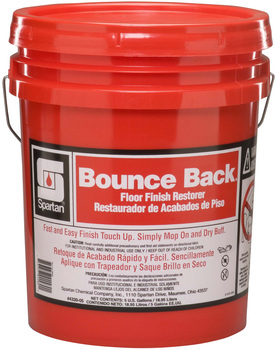 "Picture of item 684-105 a Bounce Back®.  Floor Finish Restorer. Mop on...dry buff for ""just-waxed"" shine!  5 Gallons."