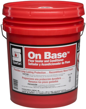 Picture of item 681-110 a On Base.  Water-emulsion seal for resilient tile.  5 Gallons.