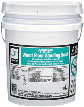 Picture of item 683-215 a AquaSport® Wood Floor Sanding Seal.  Water-based wood floor sealer for AquaSport Wood Floor Finishes.  5 Gallons.