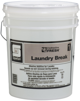 Picture of item 620-609 a Clothesline Fresh™ #1 Laundry Break.  5 Gallons.