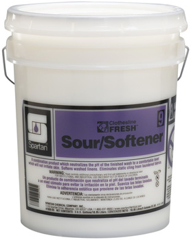 Picture of item 620-608 a Clothesline Fresh™ #9 Sour/Softener.  5 Gallons.