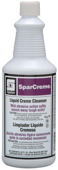 Picture of item 601-116 a SparCreme®.  Liquid Creme Cleanser with pleasant lime fragrance.  1 Quart.