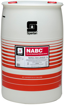 Picture of item 601-119 a NABC®.  Non-Acid Disinfectant Bathroom Cleaner. Ready-to-use. Kills HBV and HCV on inanimate surfaces. EPA Reg. #5741-18.  55 Gallons.