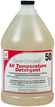 SparClean® All Temperature Detergent #50.  1 Gallon, 4 Gallons/Case