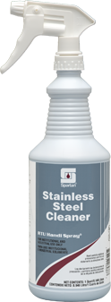 Picture of item SPT-326503 a Stainless Steel Cleaner RTU.  12 Spray Bottles/Case.