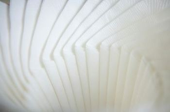 Picture of item 971-655 a MERFIN® Touch of Linen® Napkins. 12 X 17 in. White. 1000 count.