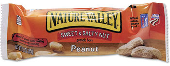 Picture of item AVT-SN42067 a Nature Valley Granola Bars,  Sweet & Salty Nut Peanut Cereal, 1.2oz Bar, 16/Box