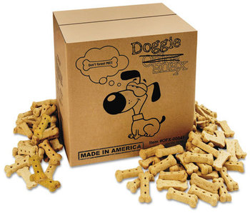 Office Snax® Doggie Biscuits,  10lb Box