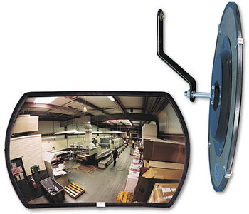 "Picture of item SEE-RR1218 a See All® 160° Convex Security Mirror,  18w x 12"" h"