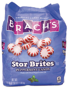 Picture of item BCH-827132 a Brach's® Star Brites® Peppermint Candy,  Individually Wrapped, 58 oz Bag