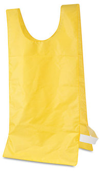 Picture of item CSI-NP1GD a Champion Sports Heavyweight Pinnies,  Nylon, One Size, Gold, 12/Box