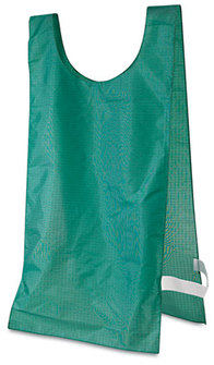 Picture of item CSI-NP1GN a Champion Sports Heavyweight Pinnies,  Nylon, One Size, Green, 12/Box