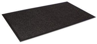 Picture of item CWN-SSR035CH a Super-Soaker™ Scraper/Wiper Floor Mat with Gripper Bottom. 34 X 58 in. Charcoal color.