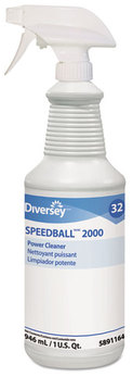 Picture of item DVO-95891164 a Diversey™ Speedball 2000™ Heavy-Duty Cleaner,  Citrus, Liquid, 1qt. Spray Bottle, 12/CT