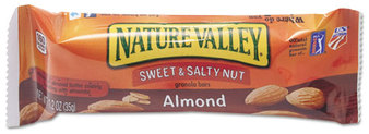 Picture of item AVT-SN42068 a Nature Valley Granola Bars,  Sweet & Salty Nut Almond Cereal, 1.2oz Bar, 16/Box