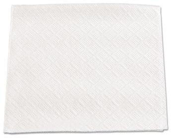 "Boardwalk® Cocktail Napkins,  1-Ply, 9 1/2"" x 9"", White, 4000/Carton"