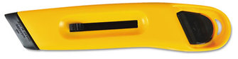 COSCO Plastic Utility Knife,  Yellow