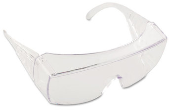 Picture of item CRW-9810 a Crews® Yukon® Safety Glasses,  Wraparound, Clear Lens