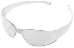 Picture of item CRW-CK110 a Crews® Checkmate® Safety Glasses,  CLR Polycarbonate Frame, Coated Clear Lens 12 pair/Box