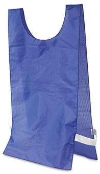 Picture of item CSI-NP1BL a Champion Sports Heavyweight Pinnies,  Nylon, One Size, Blue, 12/Box