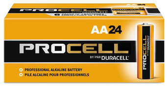 Picture of item 967-612 a Duracell® Procell® Alkaline Batteries,  AA, 24/Box