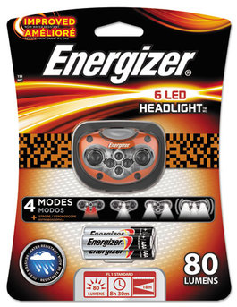 Energizer® LED Headlight,  3 AAA, Orange
